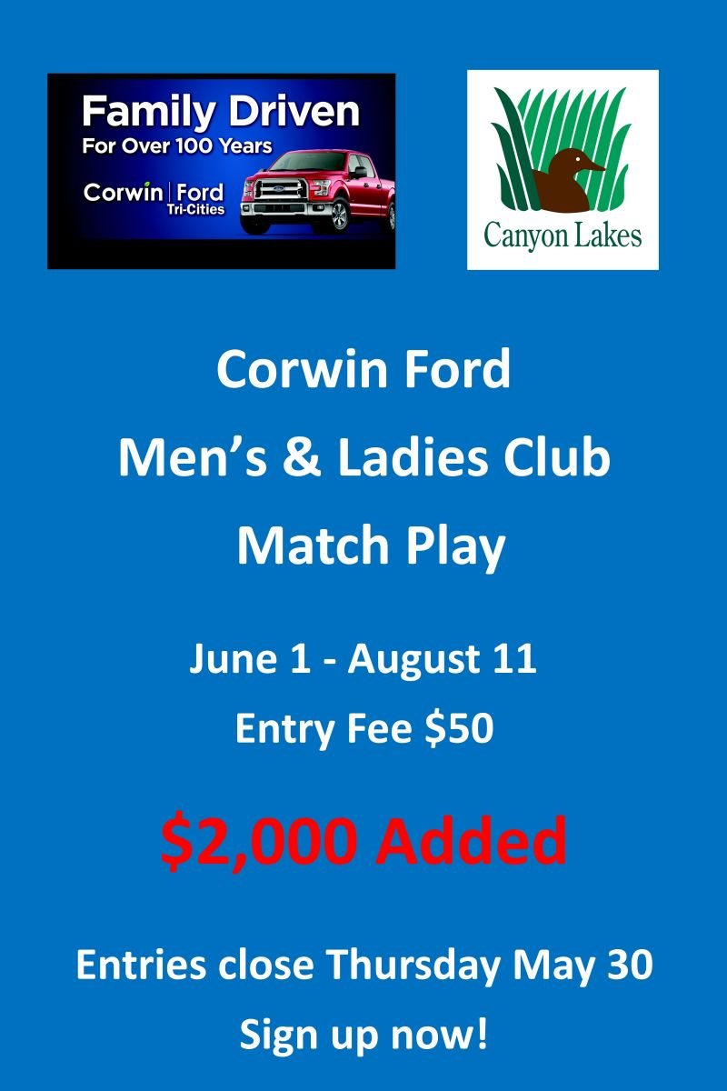 Corwin Ford Tri Cities >> Tri Cities Golf Canyon Lakes Golf Course 509 582 3736